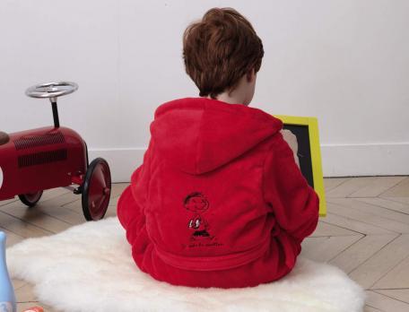 Peignoir enfant polaire Le petit Nicolas
