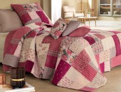 Boutis patchwork 100% coton Légendes d'automne