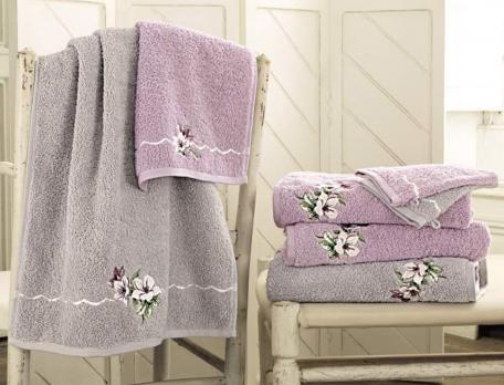 Linge de toilette Les magnolias