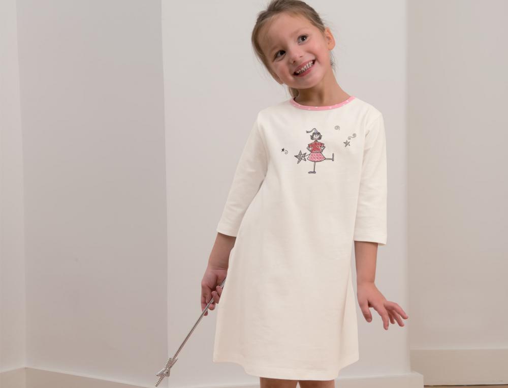 Chemise de nuit enfant Les petites fées