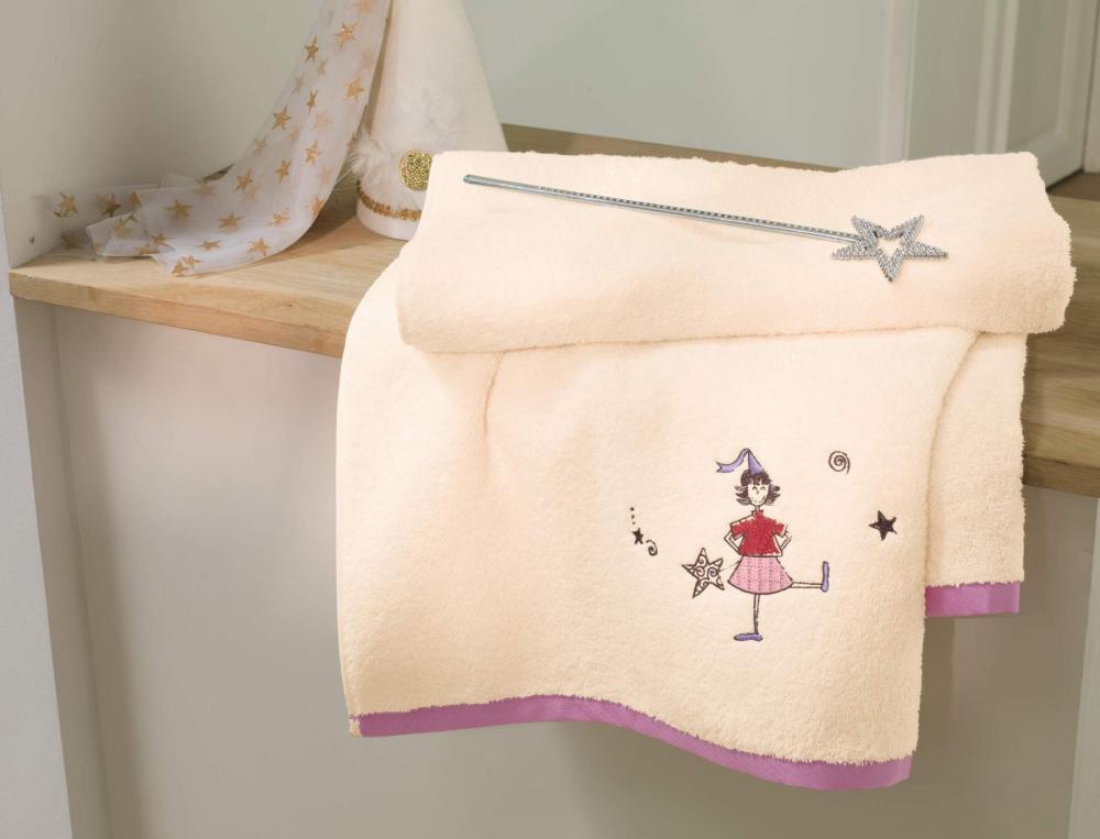 Drap de bain enfant Les petites fées