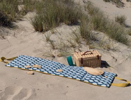 Liegematte Sandstrand