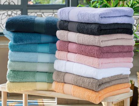 Linge de bain 65% coton et 35% modal 640g/m2 Matinale
