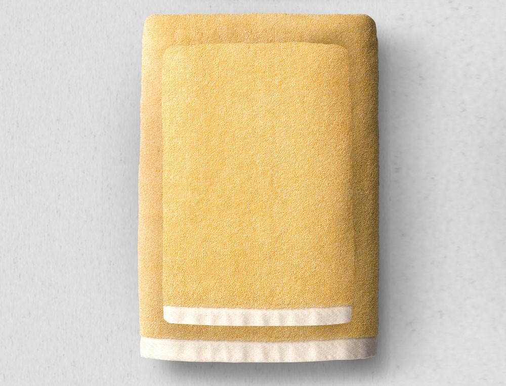 Linge de bain uni 100% coton bio, 550g/m2 Bande à part
