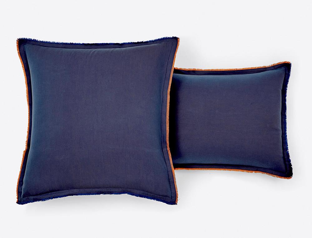 Linge de lit percale Balade à Majorelle