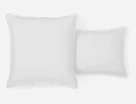 Linge de lit percale lavée Bulles de douceurs