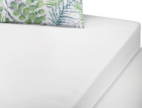Linge de lit percale imprimé Chlorophylle