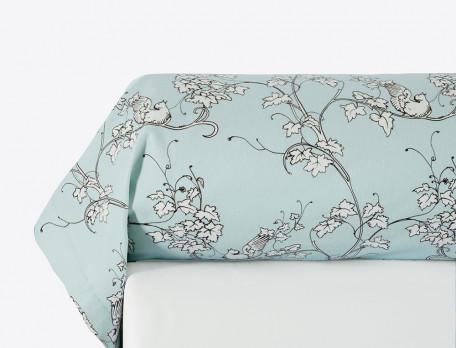 Linge de lit floral Dans les nuages