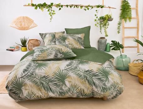 Linge de lit percale En safari
