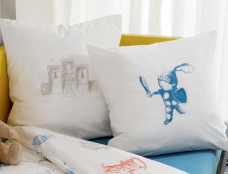linge de lit enfant ch teau fort linvosges. Black Bedroom Furniture Sets. Home Design Ideas