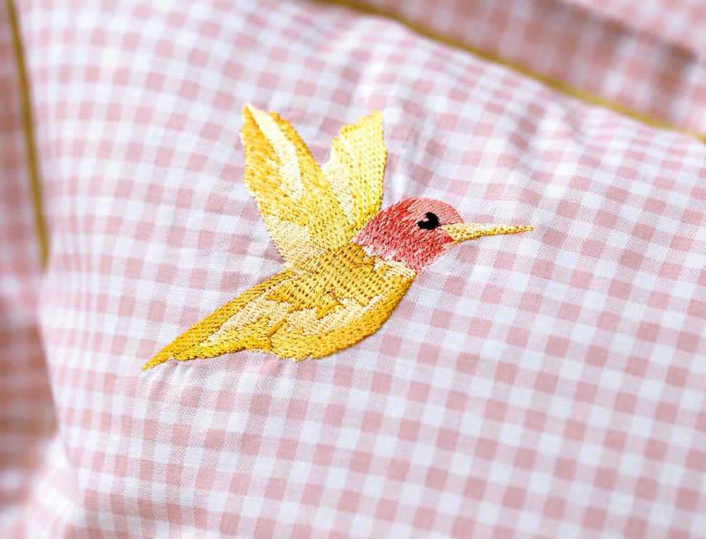 Linge de lit enfant Joli colibri