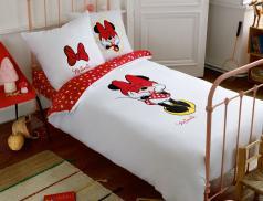 Linge de lit enfant imprimé Minnie