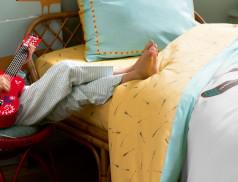 Linge de lit enfant 100% coton Petit indien