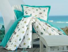Linge de lit imprimé Escale à Portofino