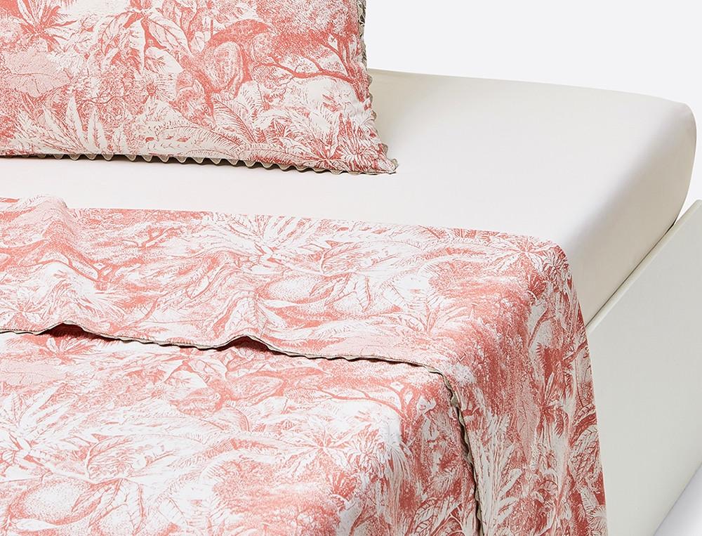 linge de lit imprim esquisse du bengale linvosges. Black Bedroom Furniture Sets. Home Design Ideas