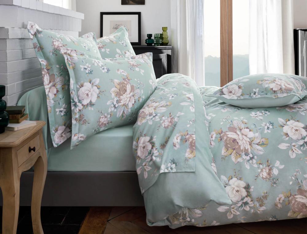Linge de lit flanelle Fleur d'Amélia