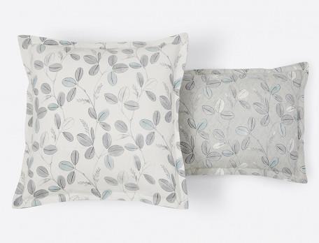 Linge de lit imprimé en flanelle Fleur des neiges