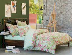 Linge de lit satin Fleurs des champs