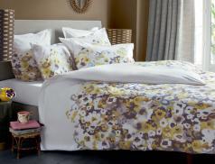 Linge de lit en percale Inspiration aquarelle