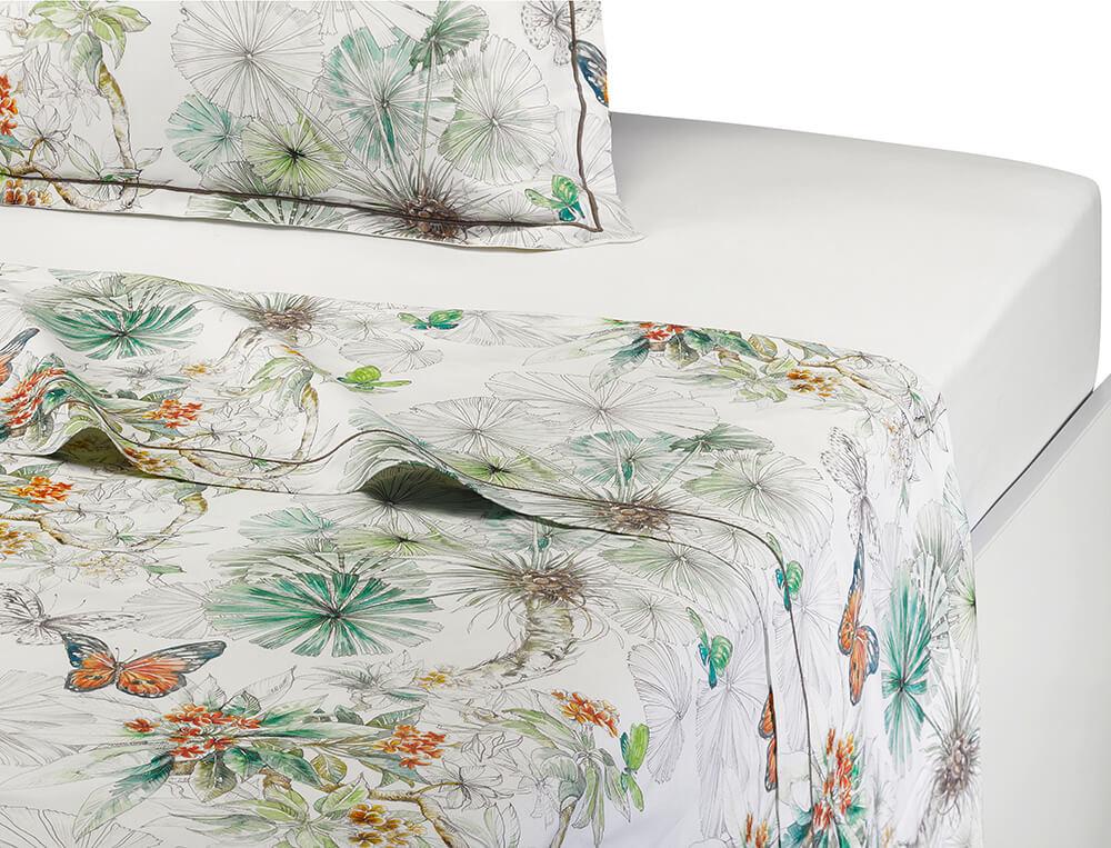 Linge de lit l 39 ile aux papillons linvosges - Analyse de pratique toilette au lit ...