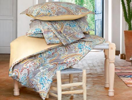 Linge de lit motif cachemire L'Orientale