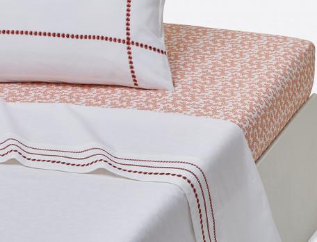 Linge de lit percale La place des Vosges