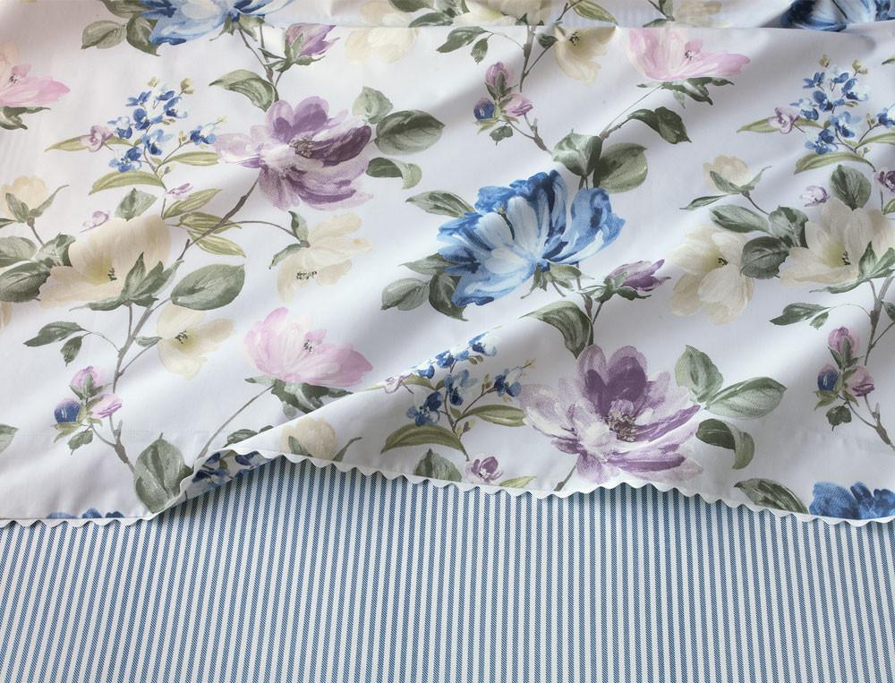 Linge de lit imprimé Le Jardin de Marie