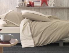 Linge de lit flanelle Les chamois