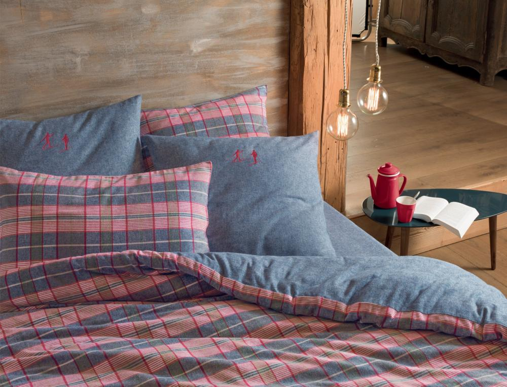 Linge de lit flanelle Les Gets