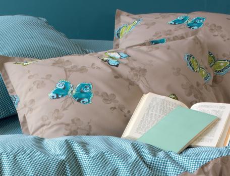 Linge de lit imprimé Libres comme l'air