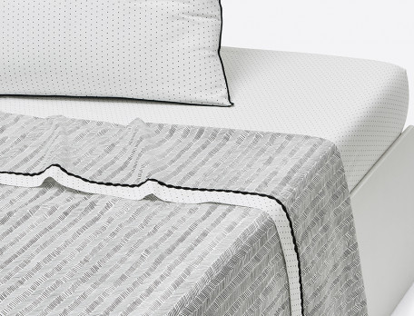Drap-housse Matin Duo percale 100% coton