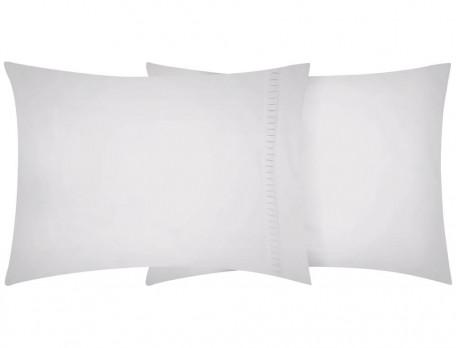 Linge de lit percale lavée 100% coton Nuage blanc