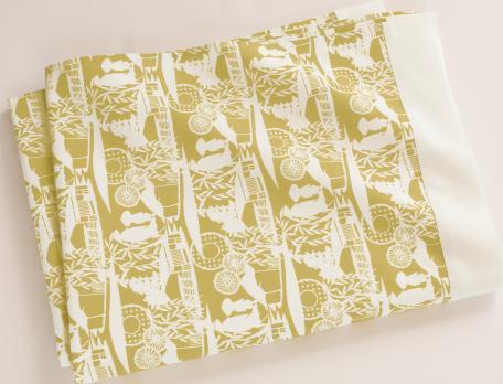 Linge de lit Ombres chinoises percale 100% coton