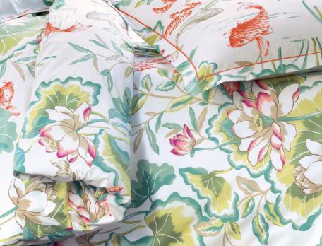 Linge de lit Palais d'été percale 100% coton