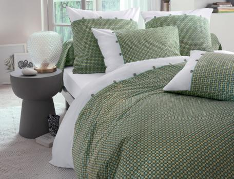 Linge de lit percale Mousson
