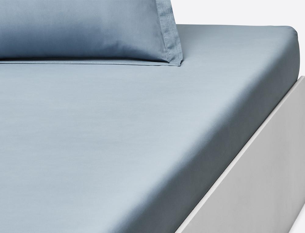 Linge de lit en voile de coton Percale prestige