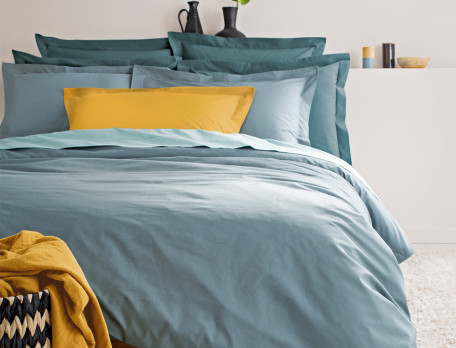 Linge de lit Percale coton peigné