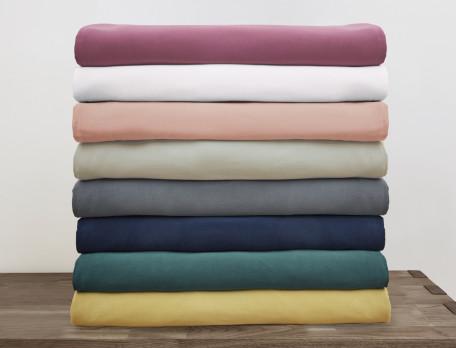 Linge de lit Satin de coton lavé - Exclu web