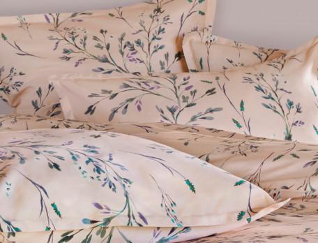 Linge de lit satin Poudre d'Azur