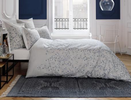 Linge de lit percale Souffle d'encre