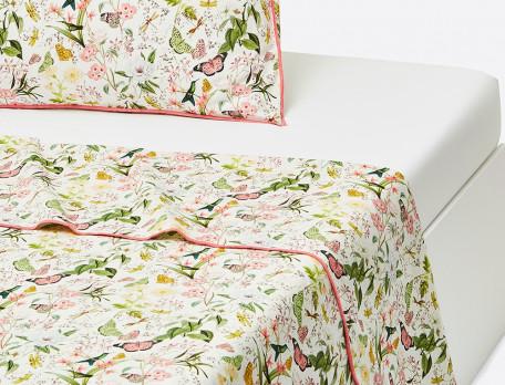 Linge de lit percale 100% coton Souffle d'été