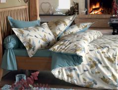 Linge de lit flanelle Sous bois