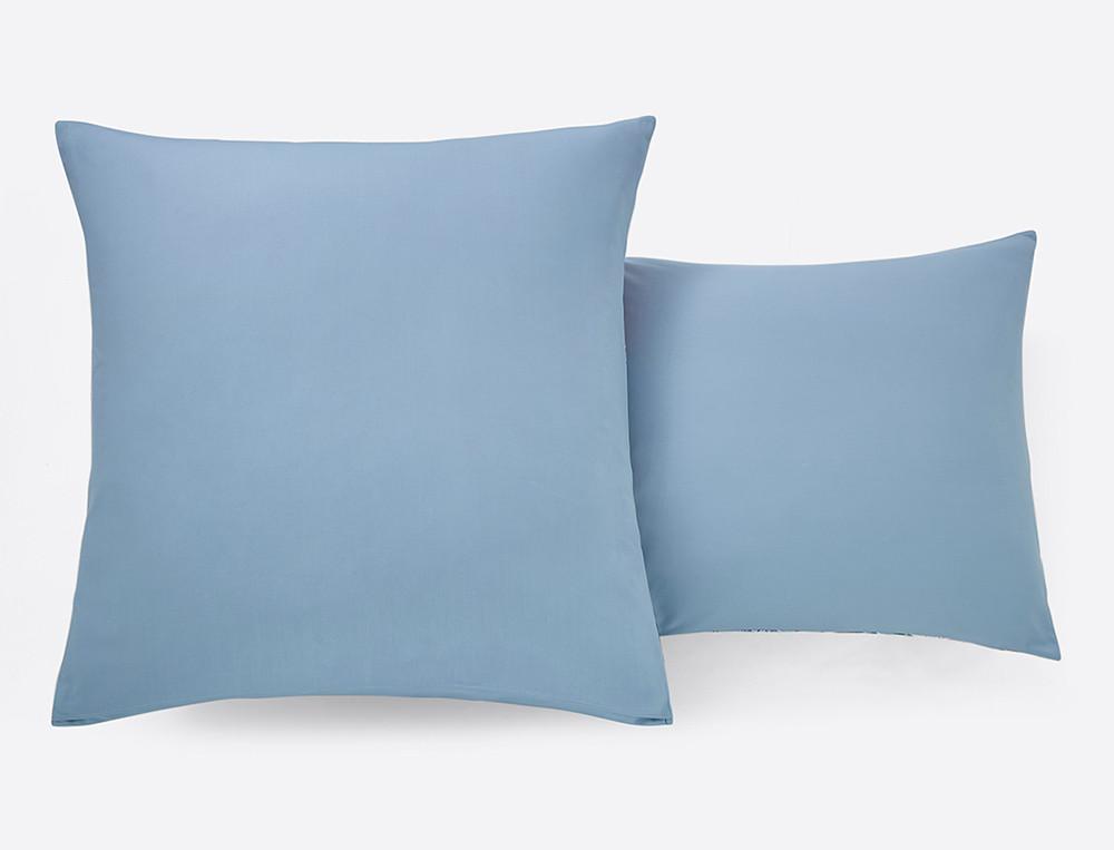Linge de lit percale imprimé Sous l'océan