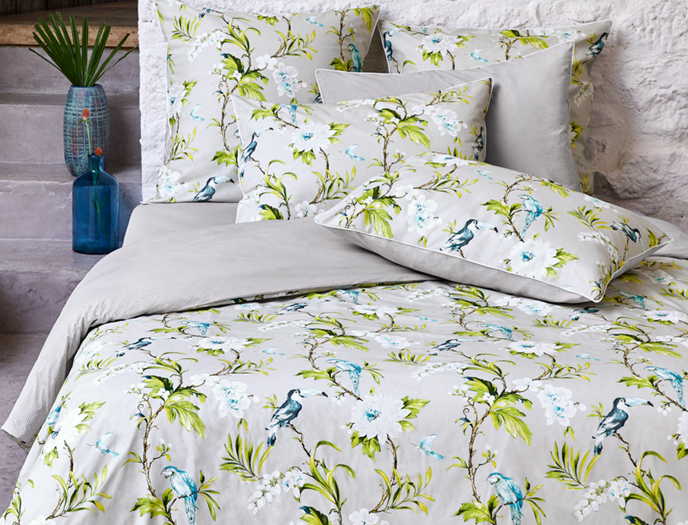 Linge de lit imprimé Sous les tropiques