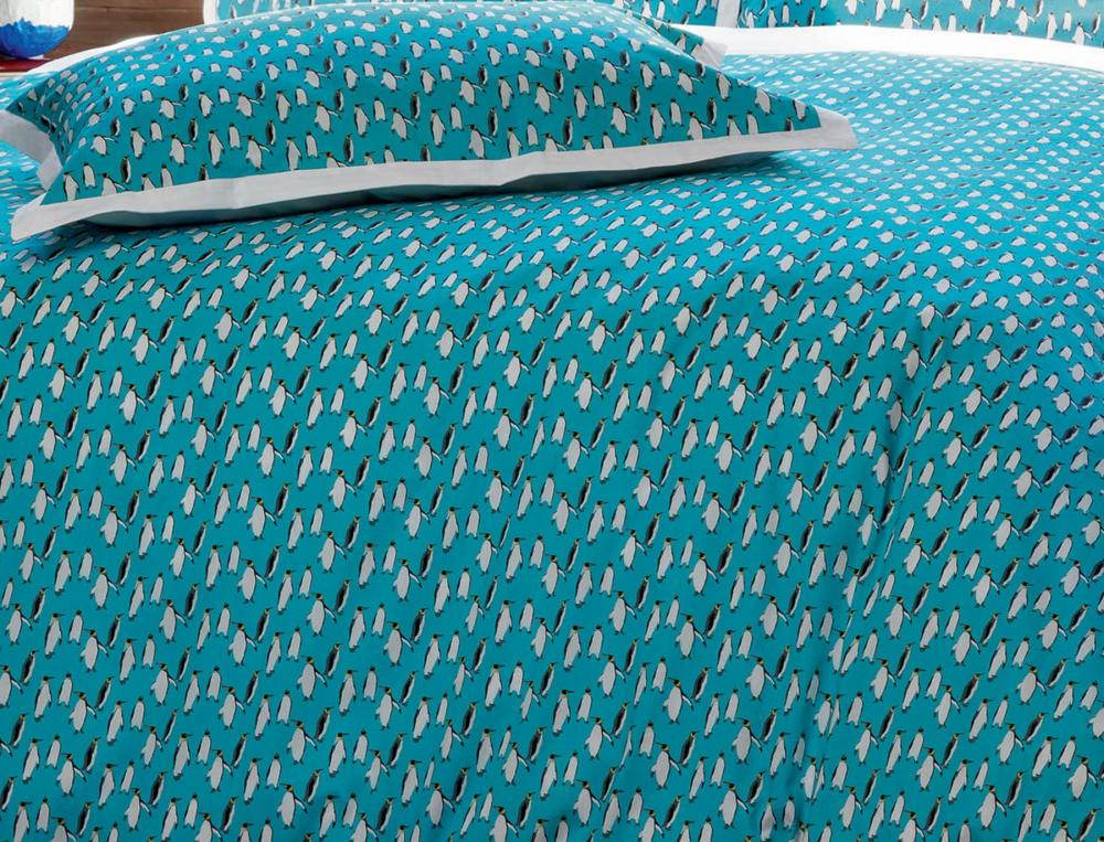 Linge de lit imprimé Sur la banquise