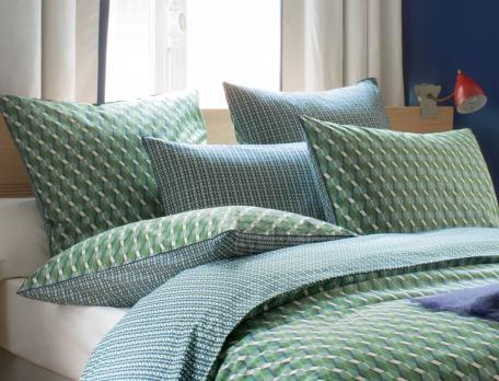 Linge de lit imprimé Terre de Jade