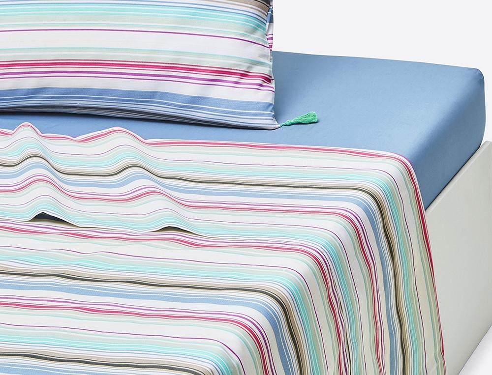 Linge de lit trait de gourmandise linvosges for Promo linge de lit