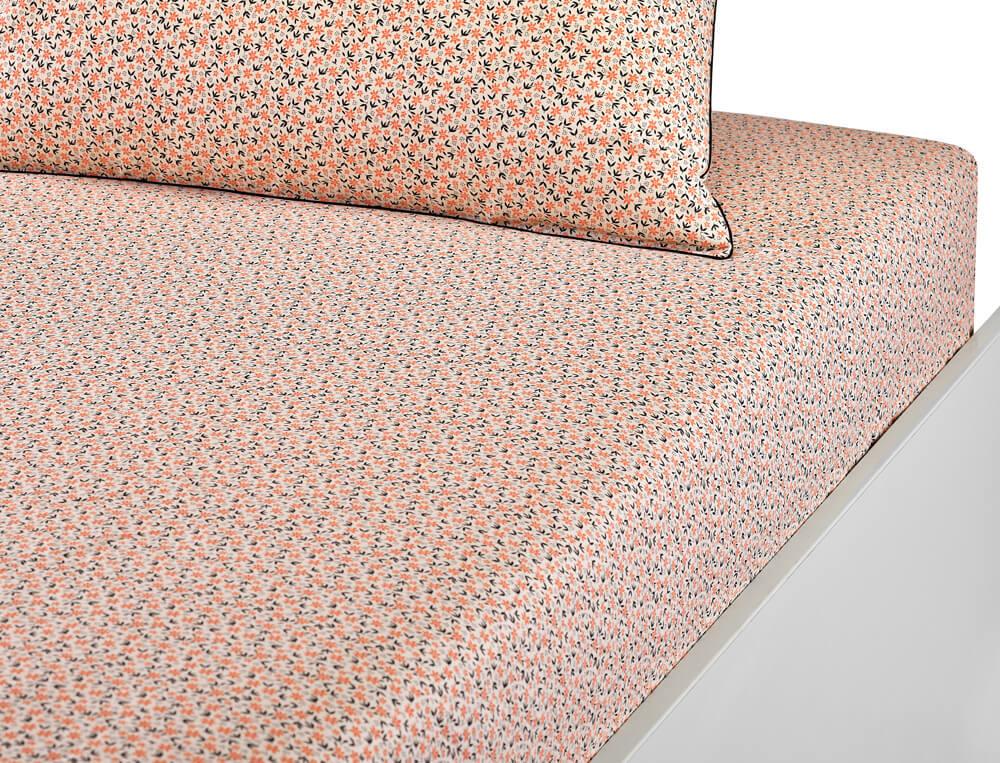 Linge de lit percale 100% imprimé en 3 coloris Triple Jeux