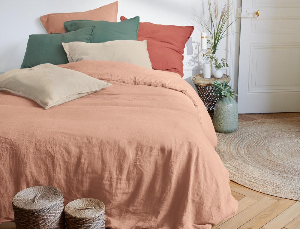 Linge de lit uni Un autre lin