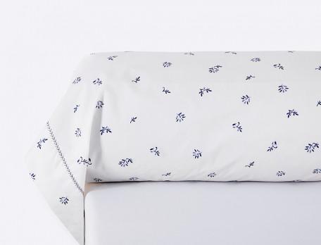 Linge de lit percale 100% coton Un brin de poésie